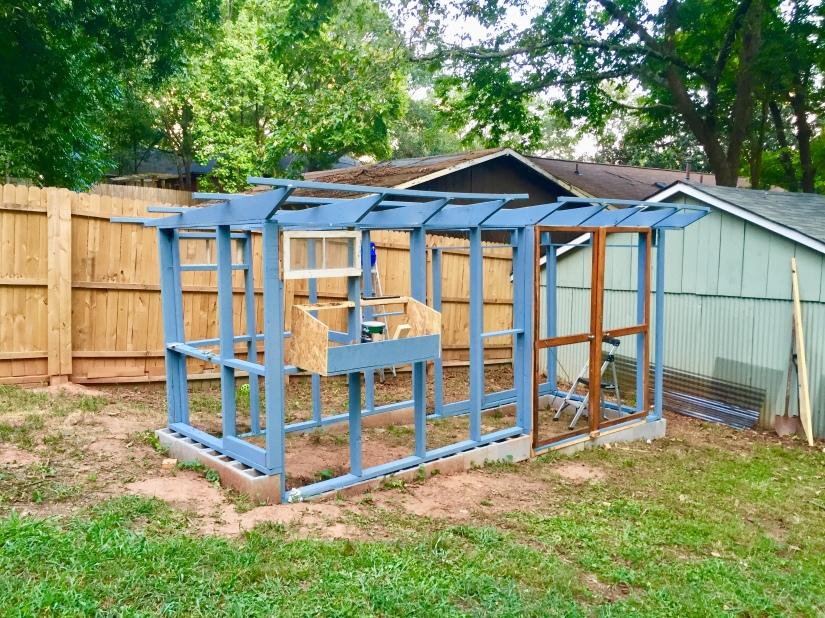 Garden Coop – Hen and Hive